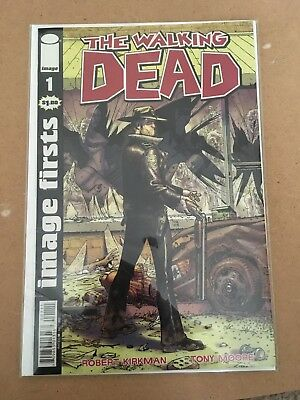 The walking dead issue 1 graphic novel