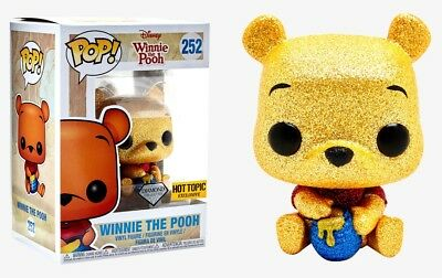 Funko Pop Disney #252 Winnie the Pooh Diamond Hot Topic Exclusive PreOrder