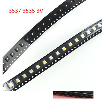 100Pcs 3537 3535 SMD Lamp Beads 3V for Sumsung LED TV Backlight Strip Repair