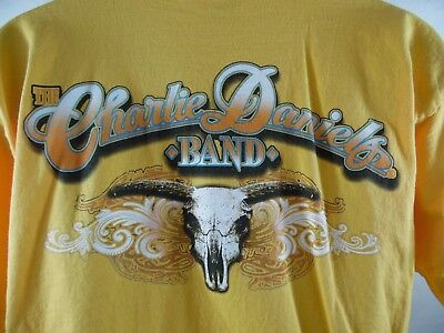 The Charlie Daniels Band T-Shirt Size L Made In Usa