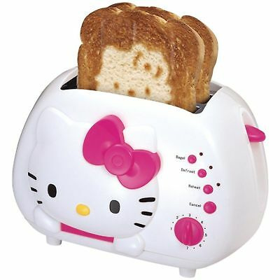 Hello Kitty 2 Slice Toaster > Out Of The Box >New & Never Used