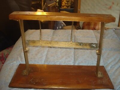 "Vintage Paper Roll Cutter 18""-""The  PIQUA"" General or Country Store Cast Iron"