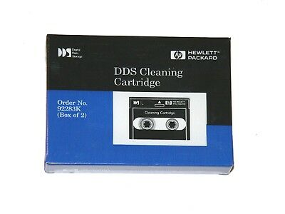 DDS DAT Reinigungscassette Cleaning Cartridge DAT Reinigungsband HP neu 92283K