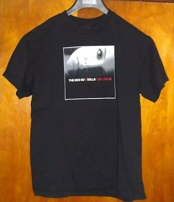 2006 The Goo Goo Dolls Let Love In Tour T Shirt Black Medium
