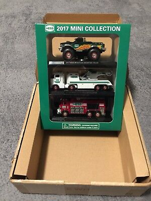Hess 2017 Mini Truck Collection Hess Miniatures-Free Shipping!