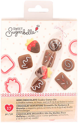 Sweet Sugarbelle Specialty Cookie Cutter Set 4/Pkg-Mini Chocolates