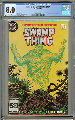 Saga of the Swamp Thing #37 (CGC 8.0) VF 1st Appearance John Constantine 1985