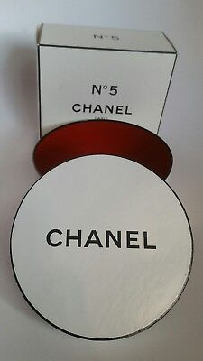 Chanel Hat Gift Box EMPTY White and Black