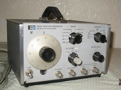 Hewlett Packard Model 3310A Function Generator for parts or repair