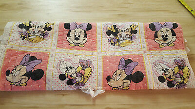 Vintage Minnie Mouse Blanket Quilt
