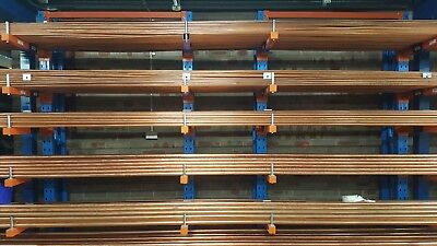 "Refrigeration Hard Drawn Copper 1"" 25.4Mm Od X 0.91Mm X 6M Metre Length As 1571"