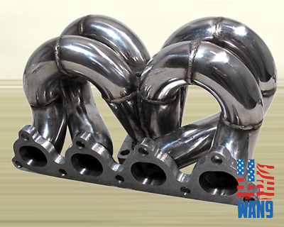 T3 TURBO CHARGER Kit+Ram Horn Manifold+Downpipe+Wg 88-00