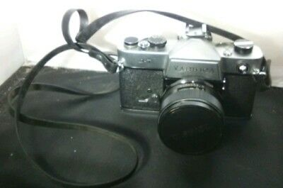 Vintage Yashica J-7 Camera with Lens & Case Very Nice Collectible Photography