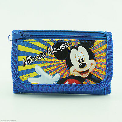 Disney Mickey Mouse Kids Trifold Wallet for Boys Children Toddlers