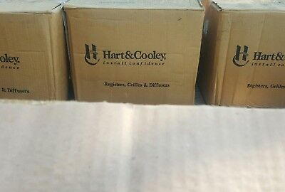 "Hart & Cooley Ceiling/Sidewall Register 10"" X 4"" W - White - NEW Old Stock"