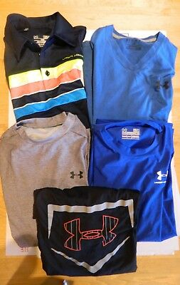 Lot of 5 Under Armour Size Med. Shirts
