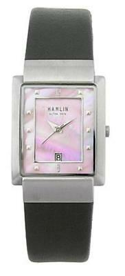 Hamlin Ladies Mother of Pearl Watch with Leather Band and Date Function
