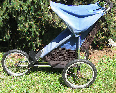 """Vtg """"The Baby Jogger II"""" Reconditioned For Single Child Athletic Stroller to GO!"""