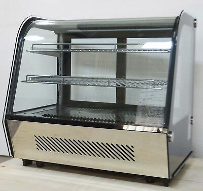 120L Bakery Showcase Commercial Dessert Display Cabinet 110V Pie Display Case