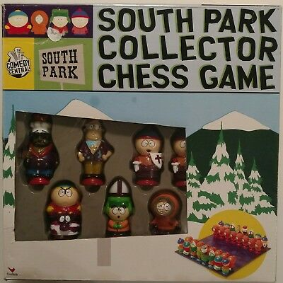 South Park Collector Chess Game Comedy Central