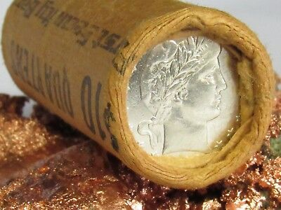 1891/1903 STUNNING 1 Unsearched Shotgun Roll $10.00 SEATED LIBERTYBARBER , Q203