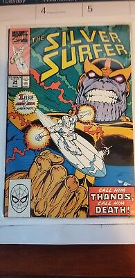 The Silver Surfer #34 February 1990 Marvel Comics