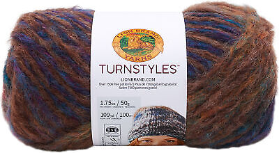 Lion Brand TurnStyles Yarn-Clover - 3 Pack