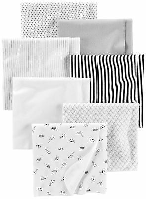 Simple Joys by Carter's Baby Unisex 7-Pack Flannel Receiving Blankets,