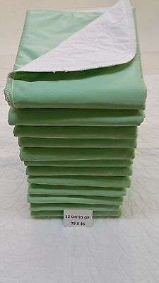 Reusable Washable Medical Underpad/bed Pad 29X35 Or Chairpad 16X18 -Made In Usa
