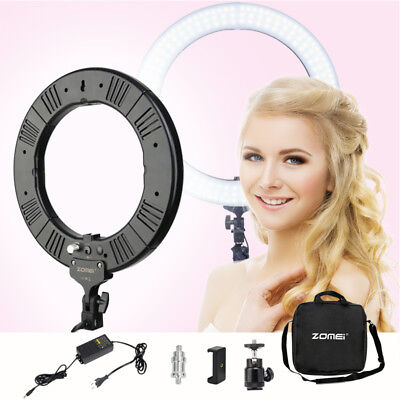 "ZOMEI 14"" Dimmable 5500K LED photography Ring Light  video for Cellphone DV"