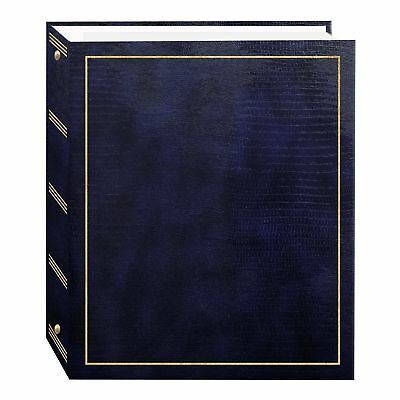Pioneer Photo Albums Magnetic Self-Stick 3-Ring Photo Album 100 Pages (50