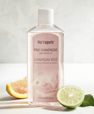 Scented Diffuser Oil Refill, New, Pink Champagne, Strawberry/grapefruit, Pier 1