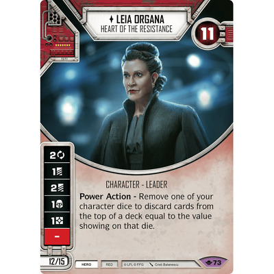 Star Wars Destiny Leia Organa – Heart of the Resistance