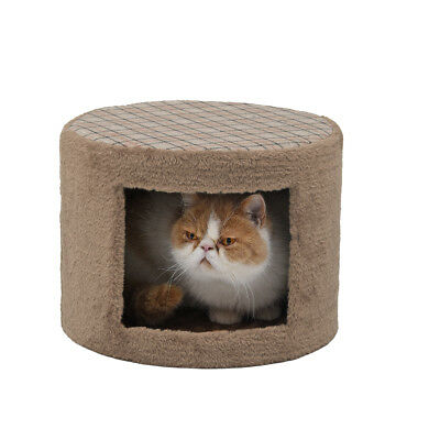Arbre à Chat avec Griffoir H40cm Kaki Sisal naturel Cat arbre jouet FR Local