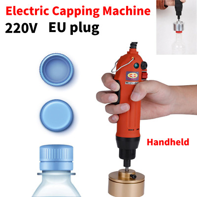 220V Electric Handheld Bottle Capping Machine Bottle Caps Sealer Sealing Machine
