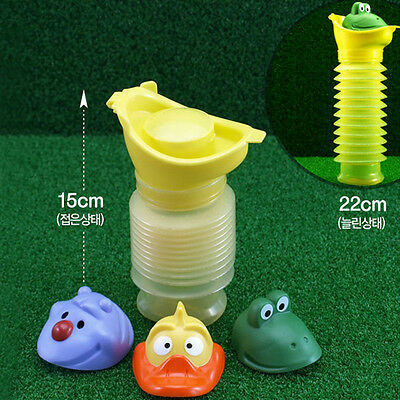 Portable Car Travel Camping Kids Baby Pee Toilet Potty Emergency Urinal Pop UK