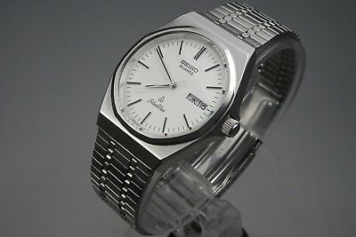 Vintage 1981 JAPAN SEIKO SilverWave 6433-7000 7Jewels Quartz.