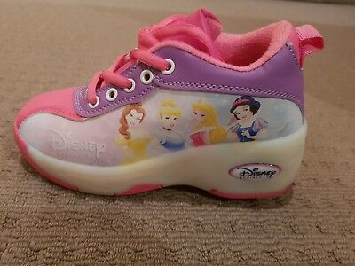 Girls Disney roller skate shoes sneakers size US 2 EUR 30
