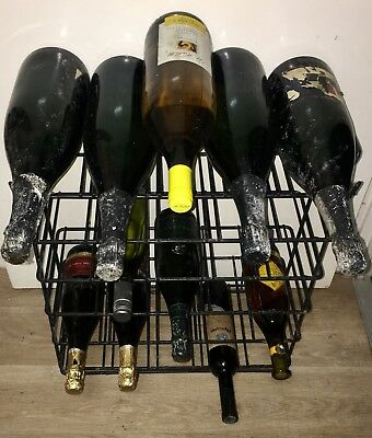 Wine storage rack INCLUDES WINE!!! Pick up Newtown