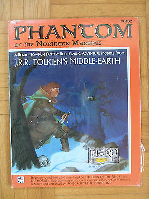 NEW Sealed PHANTOM NORTHERN MARCHES – Middle-Earth Role Payling MERP #8102 lotr