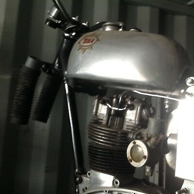 BSA c15 trials unfinished project garage barn find