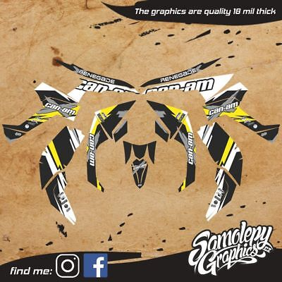 Can-Am Renegade 800/1000 Graphic Kit Stickers Graphics Kit