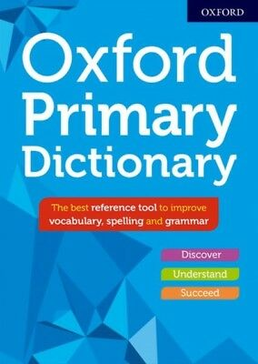 Oxford Primary Dictionary New Edition Hardback Pre Order 09/08/2018