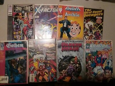 Collectible comic book lot  VINTAGE 80s 90s  all VG NM M