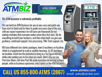 ATM Route Business Built Nationwide   Part-Time Work / Full-Time Pay