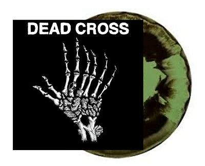"Dead Cross EP - Limited Black Green Swirl 10"" EP - Neu & Sealed"