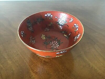 Oriental Lacquered Bowl
