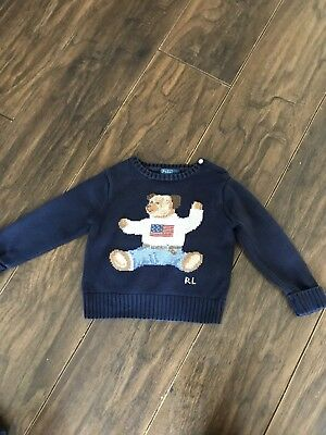 Ralph Lauren teddy Jumper 24m