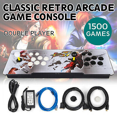 2019 Pandora box 9S multiplayer home Arcade Console 1500 Games All in 1 US Stock