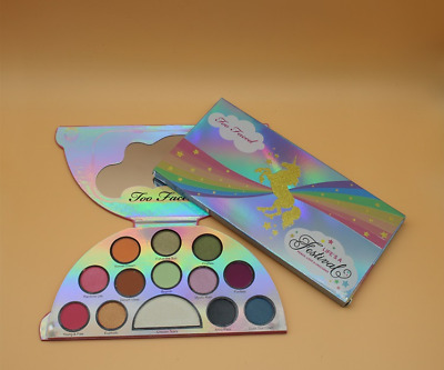 TOO&FACED Eye Shadow & Highlighter Makeup Palette Life's A Festival UNICORN &New